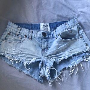 One teaspoon thrash shorts